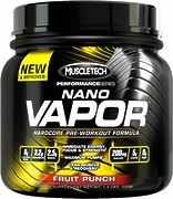 naNO Vapor Performance